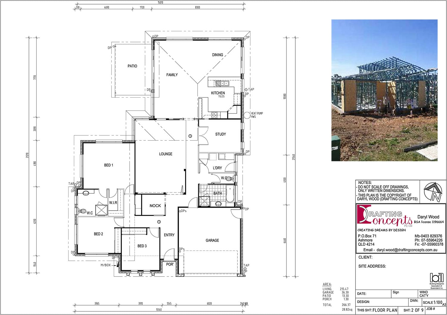 portfolio drafting concepts drafting services sunshine On floor design contractors bolton