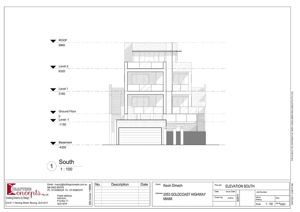 Miami Mansion Drafting Plans Drafting Concepts
